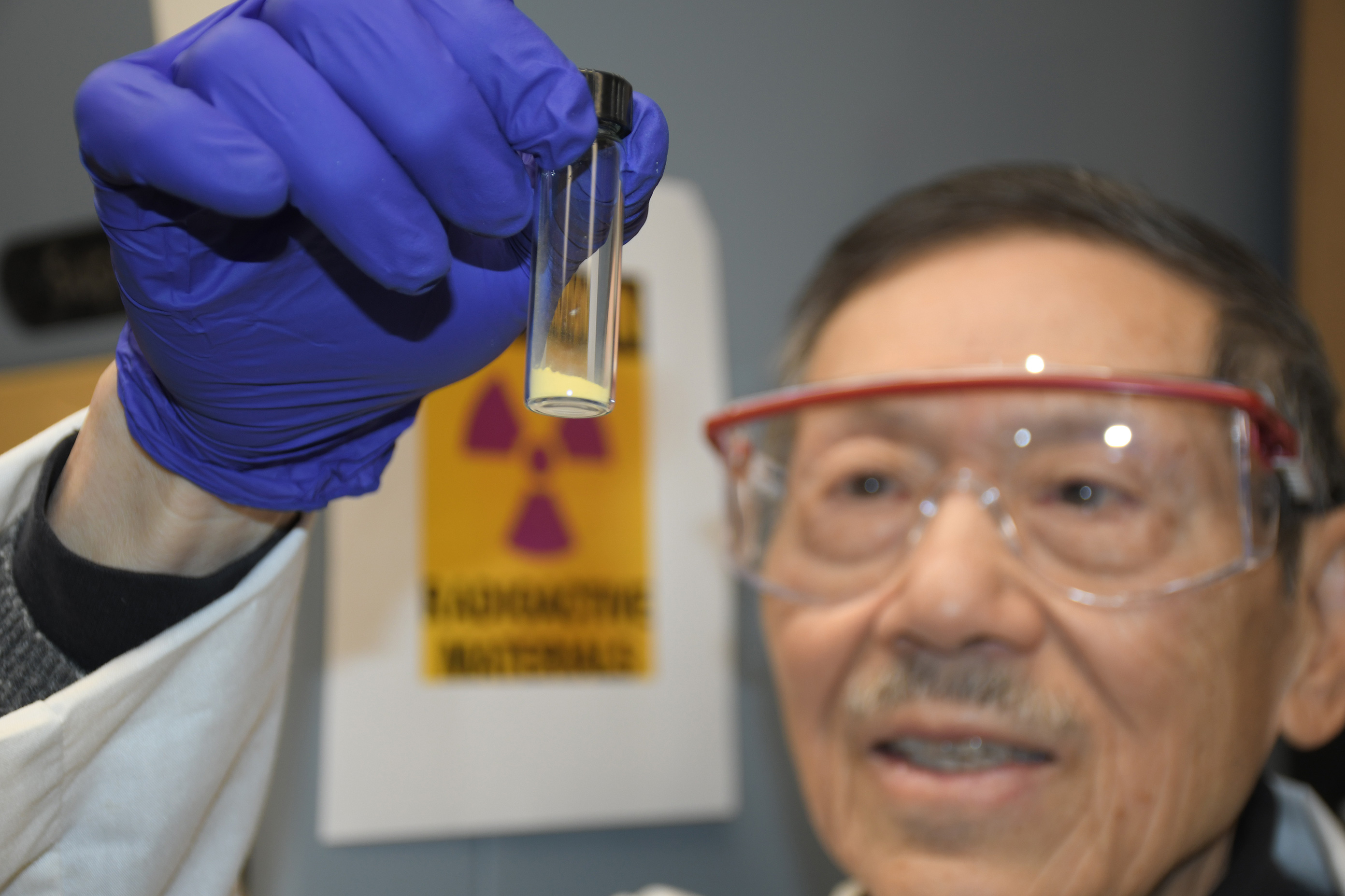 Seawater yields first grams of yellowcake