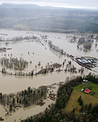 2009 Flooding of Snoqualmie River, Washington