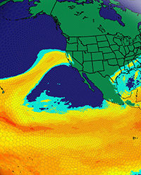 atmospheric rivers model