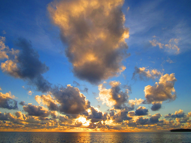 Maldives Clouds