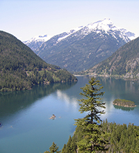 Diablo Lake Washington