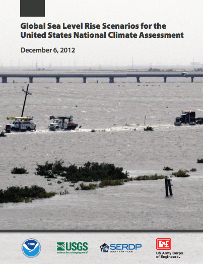 Global Sea Level Rise Scenarios for the United States National Climate Assessment </em>report published for NOAA.