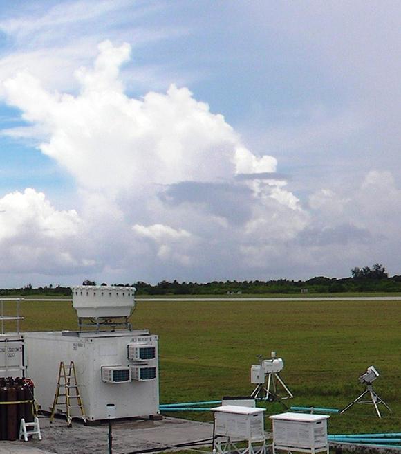 KAZR retrieves cloud properties