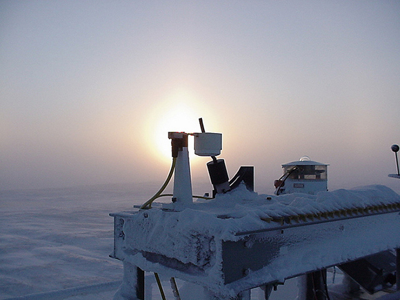 Multifilter Rotating Shadowband instrument in Alaska.