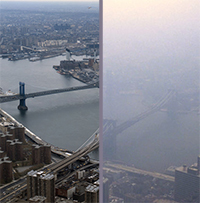 NYC Clear and Hazy