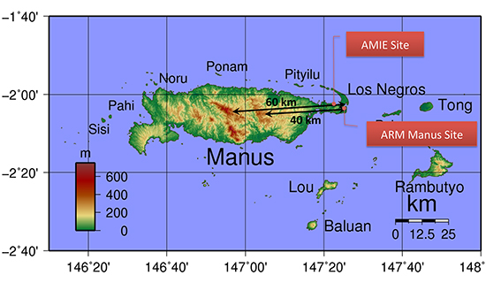 Manus ARM sites
