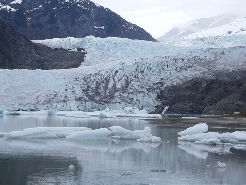 polar glacier