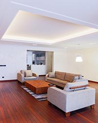 spacious modern home
