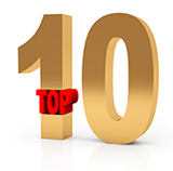 Top Ten graphic courtesy of Same Churchill, Creative Commons License