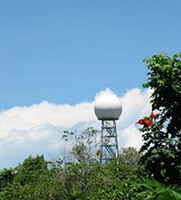 The C-band scanning precipitation radar on Manus Island