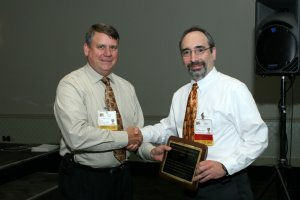 Photo of Richard Davis and Cliff Glantz