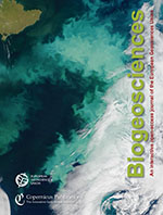 Biogeosciences cover