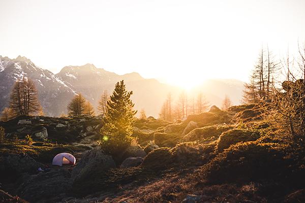 hazy campground
