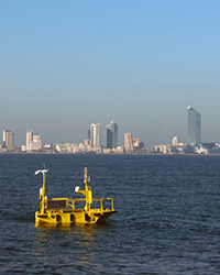 new jersey off-shore wind-measuring buoy