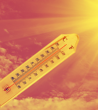 the climate heats up