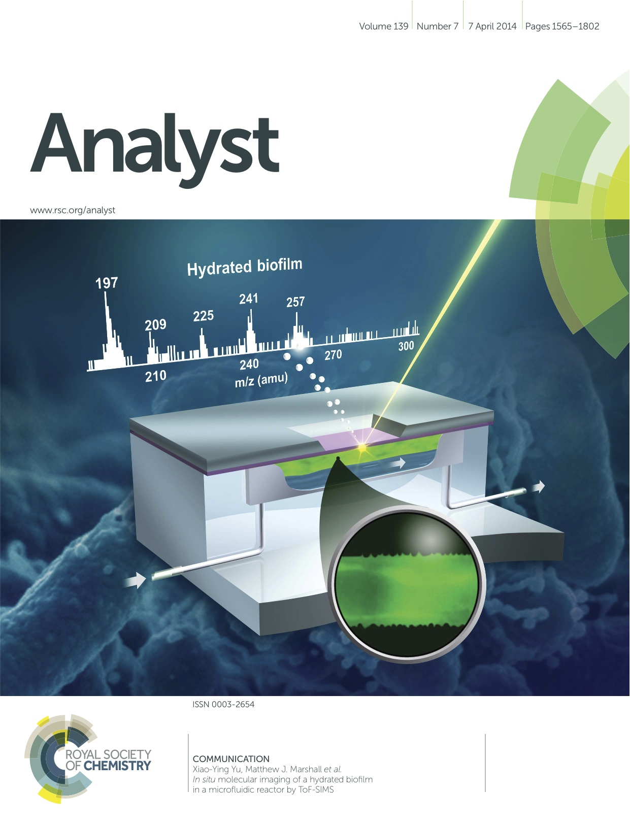 cover of Analyst journal