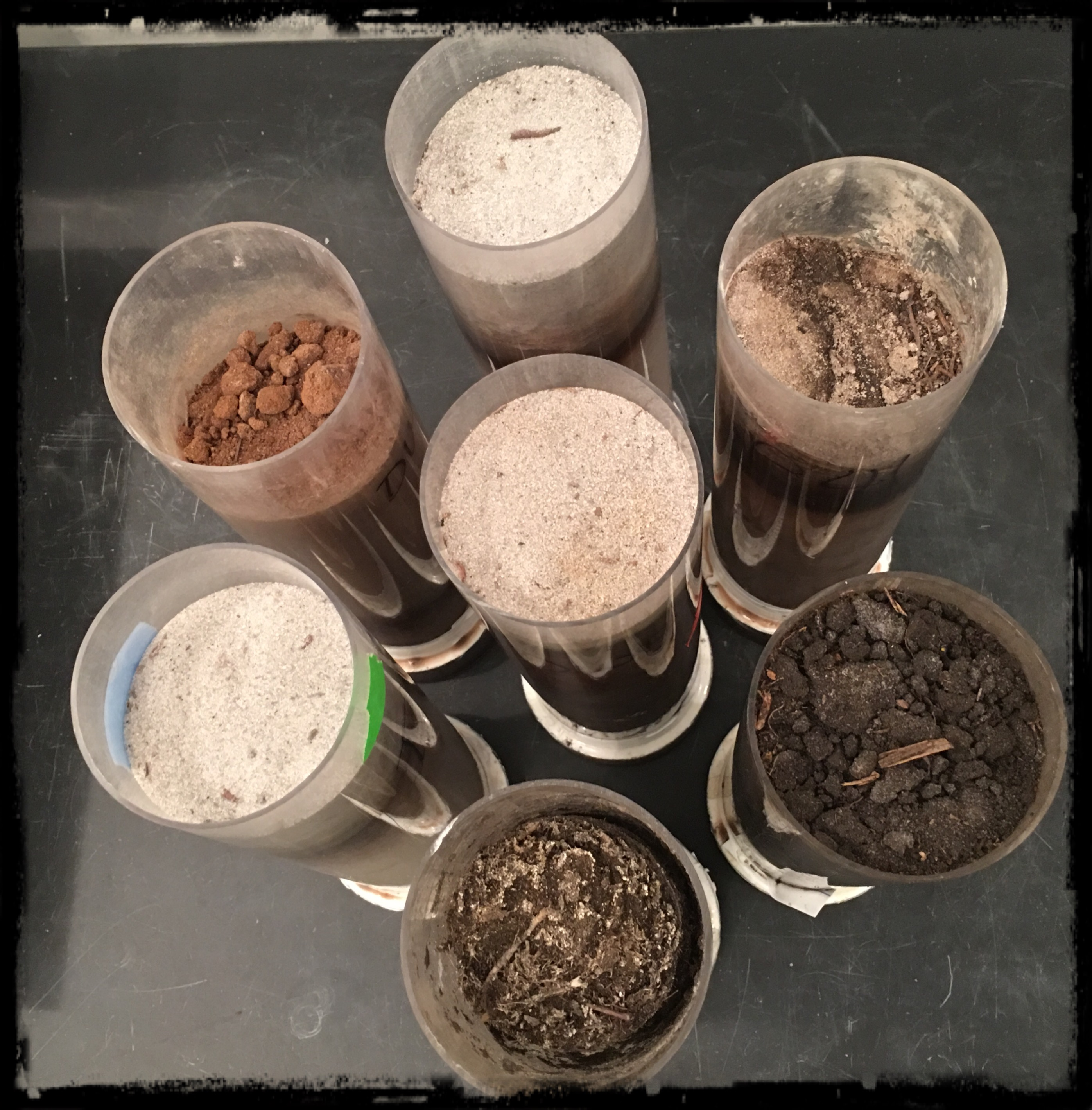 VB lab soils