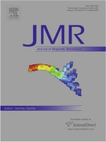 JMR Journal Cover