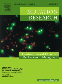 Mutation Research Cover