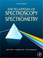 Spectroscopy and Spectrometry