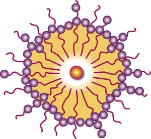 Image of nanoparticles