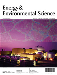 Energy and Environmental Science Cover