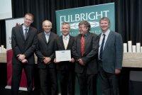 Richard Collins (center). Copyright Photo Effy Alexakis, photowrite
