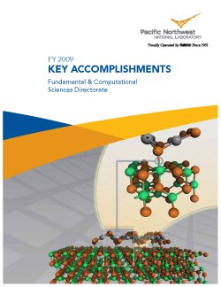 2009 Accomplishment Report Cover