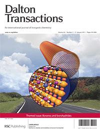 Dalton Transactions cover