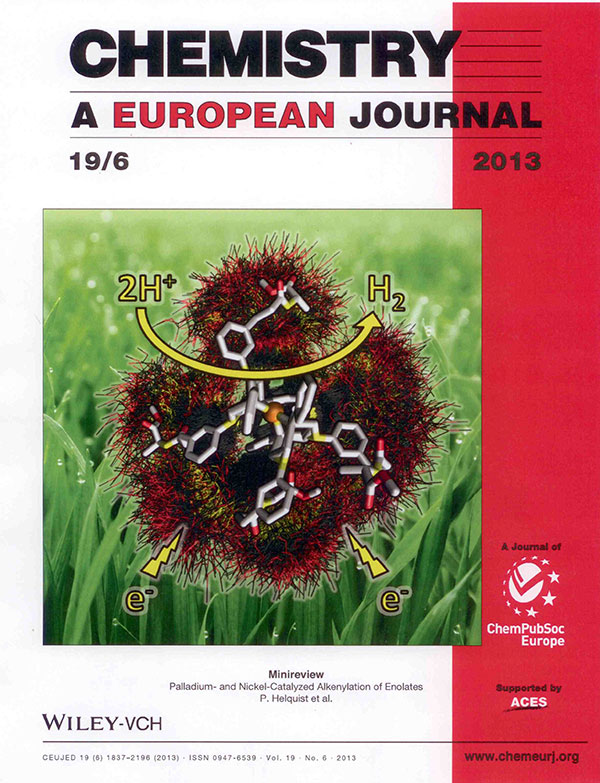 Cover of Chemistry: A European Journal