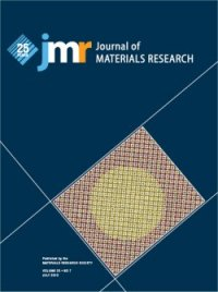 Cover of Journal of Materials Research, July 2010