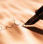 Script writing photo