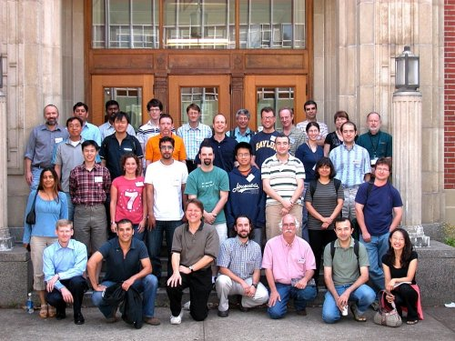 multiscale math summer school students