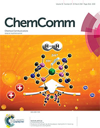 Chemical Communication journal cover