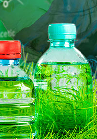 Greening plastic bottles