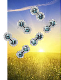 Hydrogen molecules