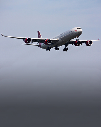 Virgin Air flight
