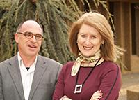 Roger Rousseau and Vanda Glezakou