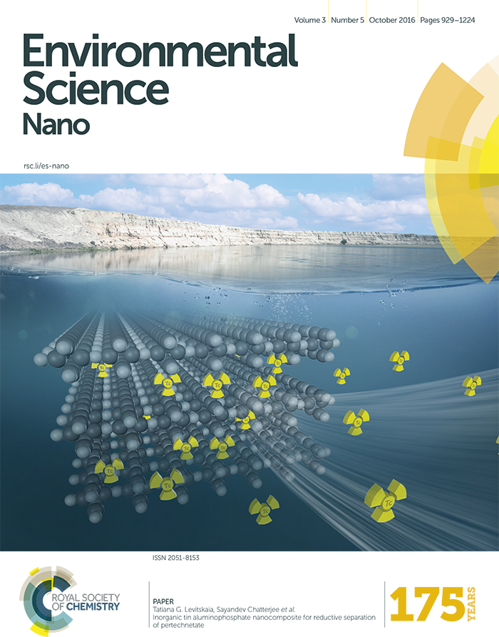 Cover of the Environmental Science journal.