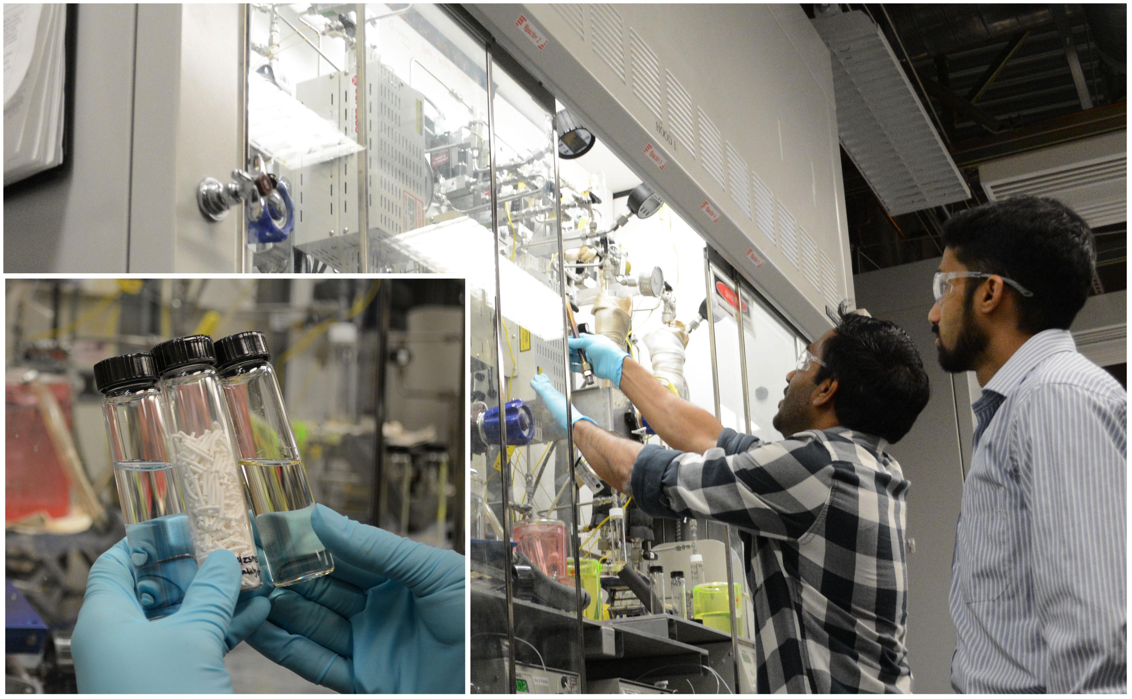 Researchers study zeolite catalysts