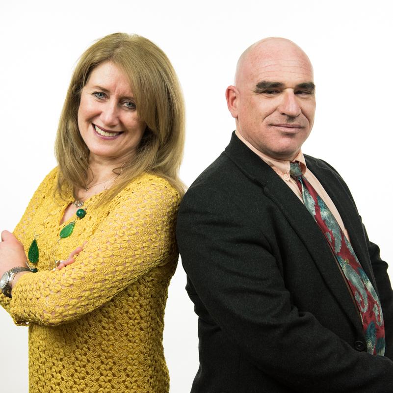Vanda Glezakou and Roger Rousseau