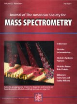 Mass Spectromoty Journal Cover
