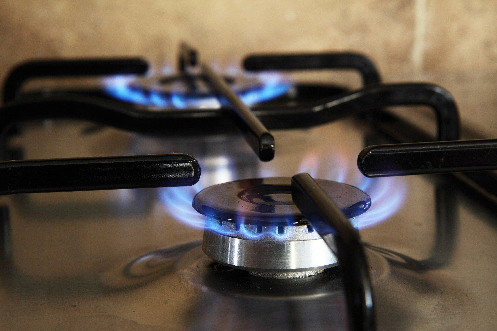 This image displays a stovetop burner.