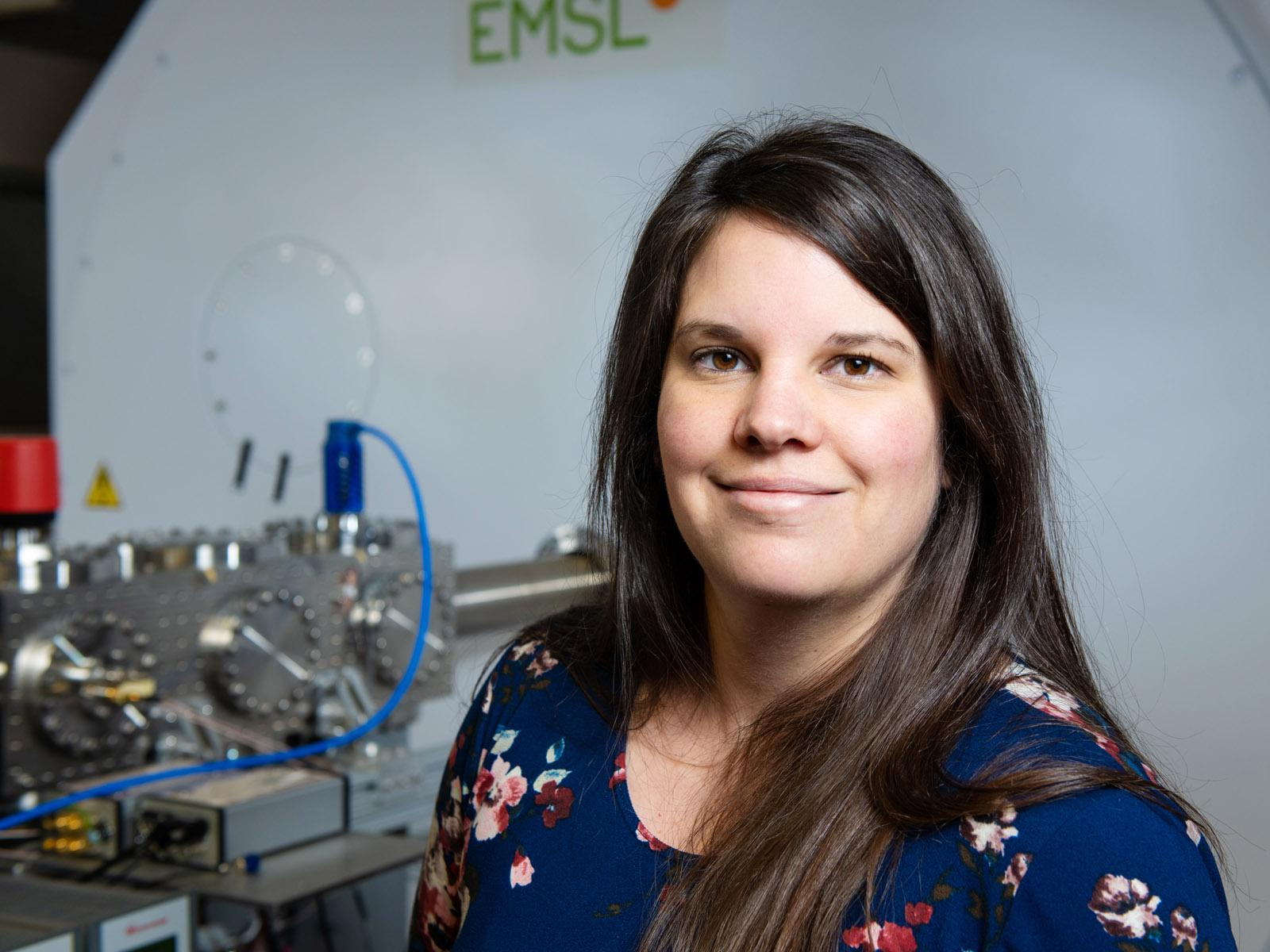 Photo of PNNL researcher Emily Graham