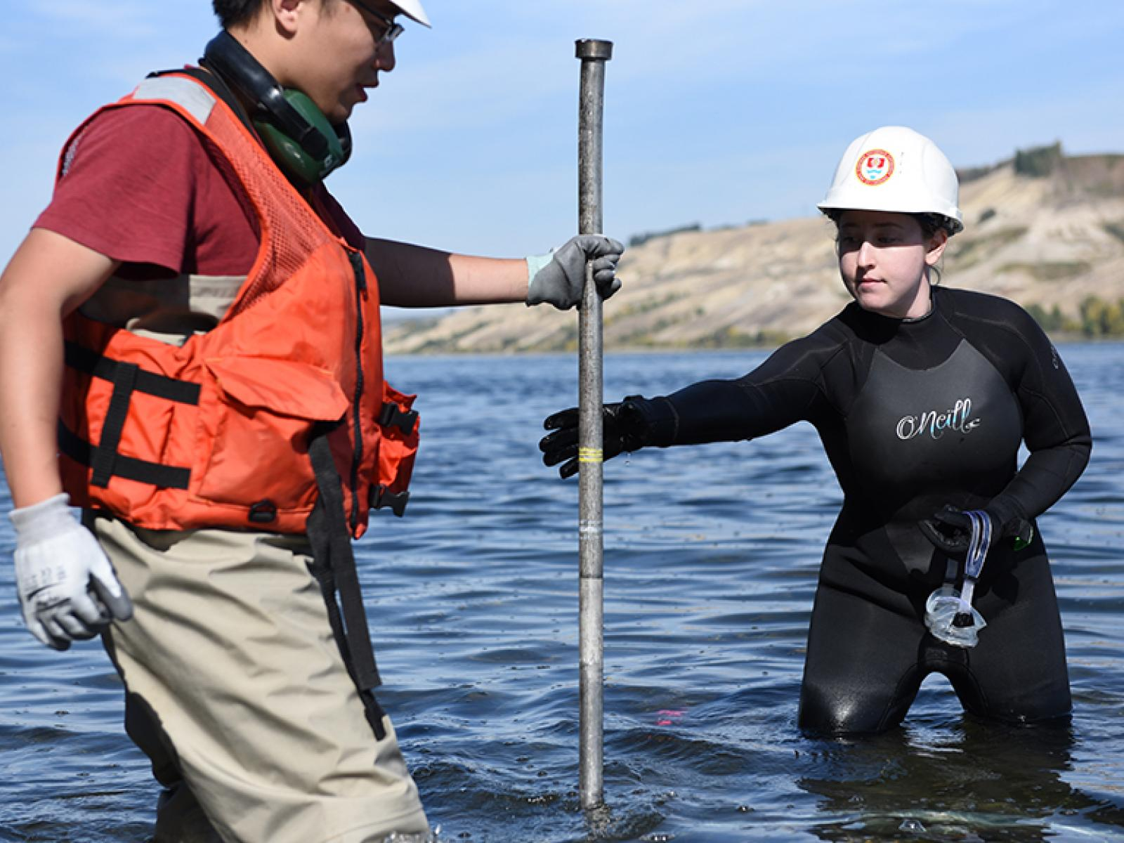 Research in the Columbia River