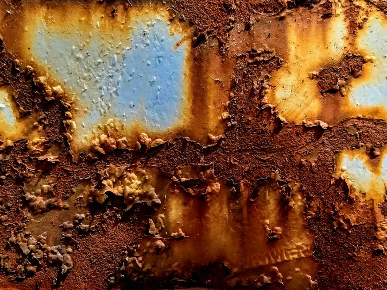 PNNL researchers have been able to observe in unprecedented detail how rust happens. Credit: Zsolt Palantinus on Unsplash