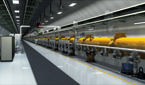 Conceptual view of the International Linear Collider