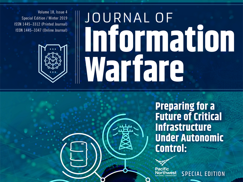 PNNL Special Edition Journal of Information Warfare