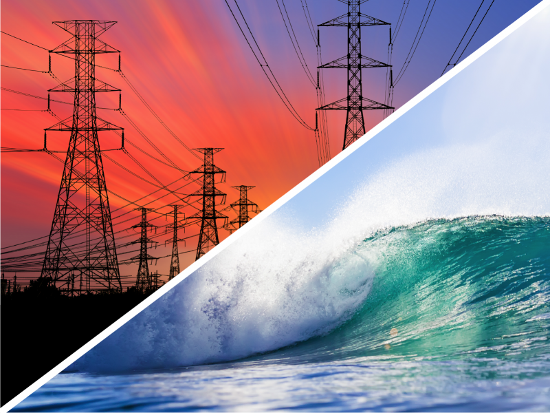 Marine renewable energy and grid value