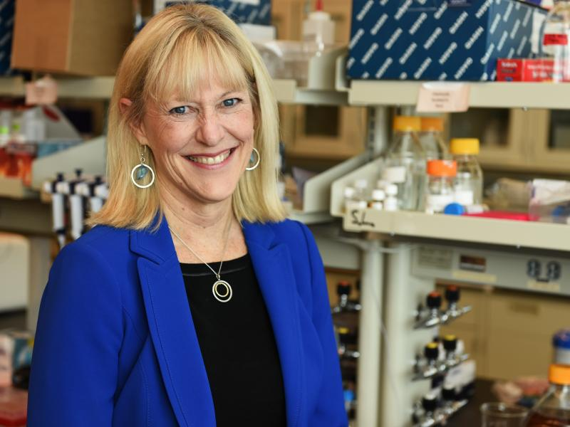 Portrait of PNNL researcher Janet Jansson